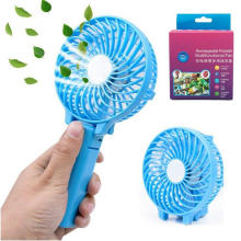 China for Rechargeable Mini Fan Foldable Portable Desktop Electric Fan with USB Rechargeable supply to Poland Exporter